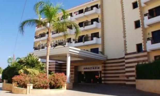 Anastasia Club Beach Hotel in Protaras, Cyprus