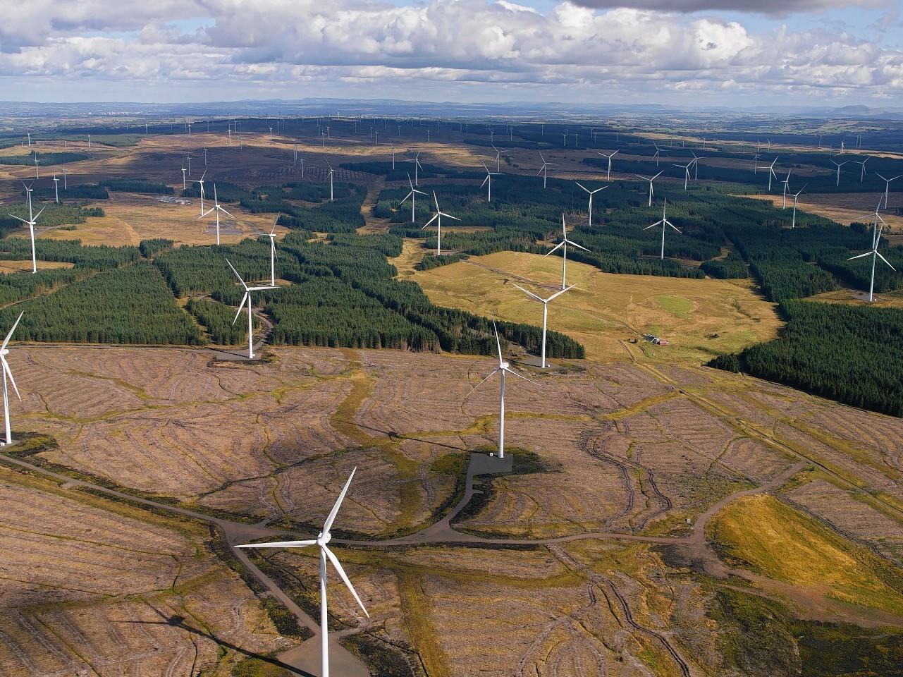 Wind Energy - Whitelee, the UK's Largest On-Shore Windfarm