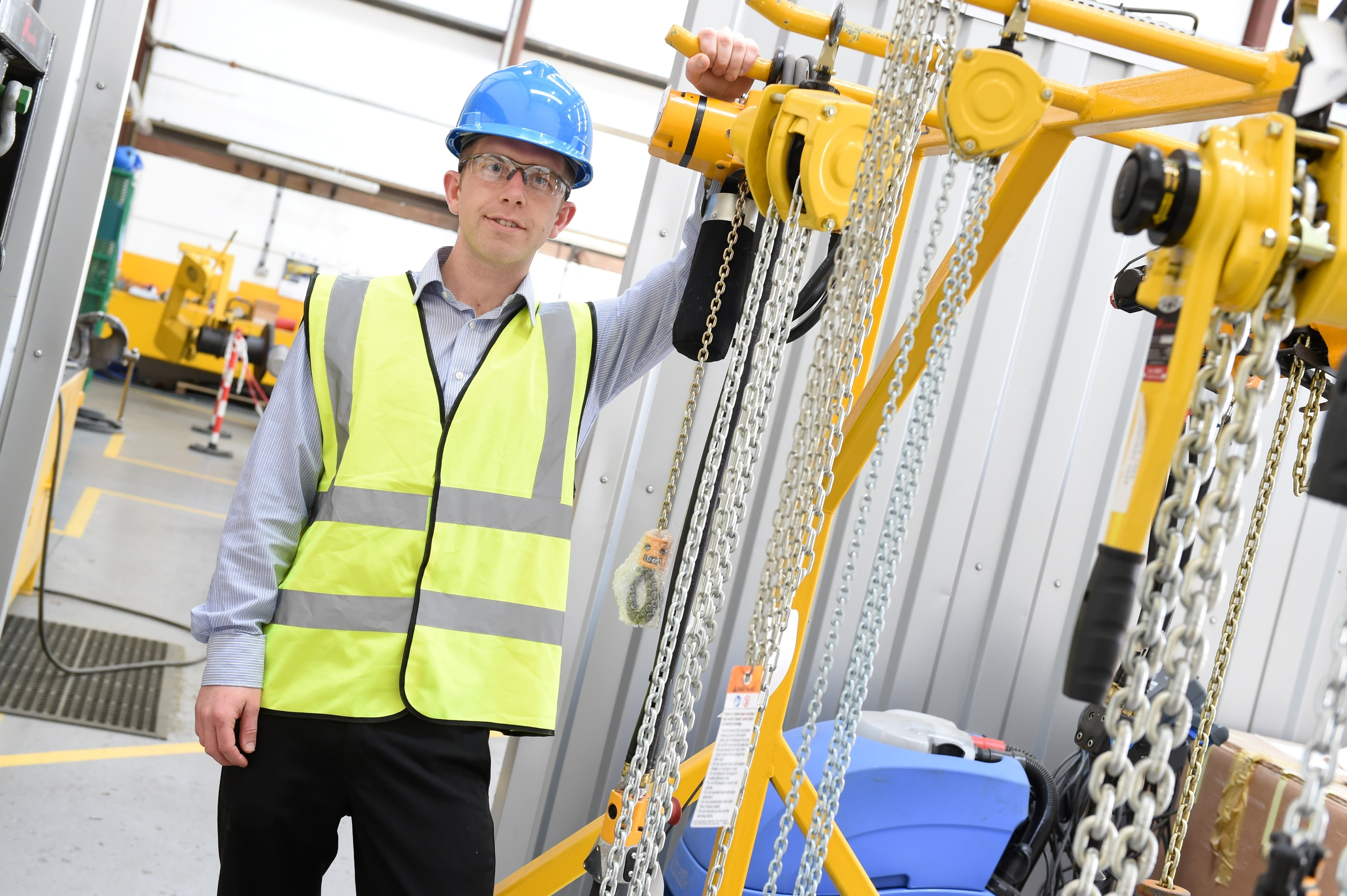 Calum Coutts, a graduate mechanical engineer for Fisher Offshore in Oldmeldrum.
