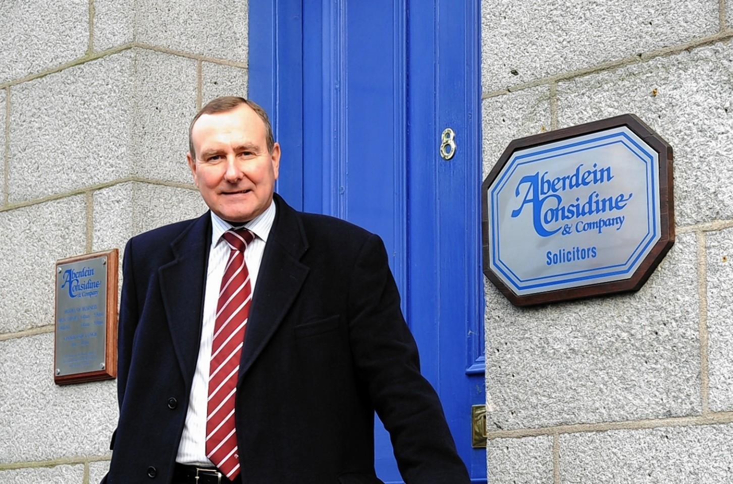 Aberdeen-based law firm, Aberdein Considine & Company  Senior Partner Iain Considine .