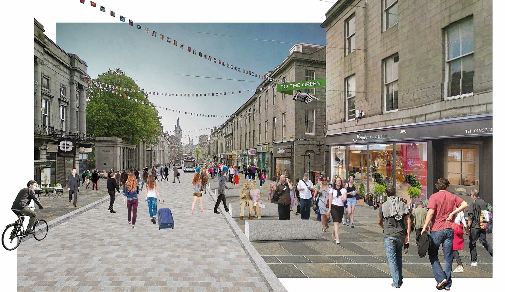 The masterplan aims to revive the city centre
