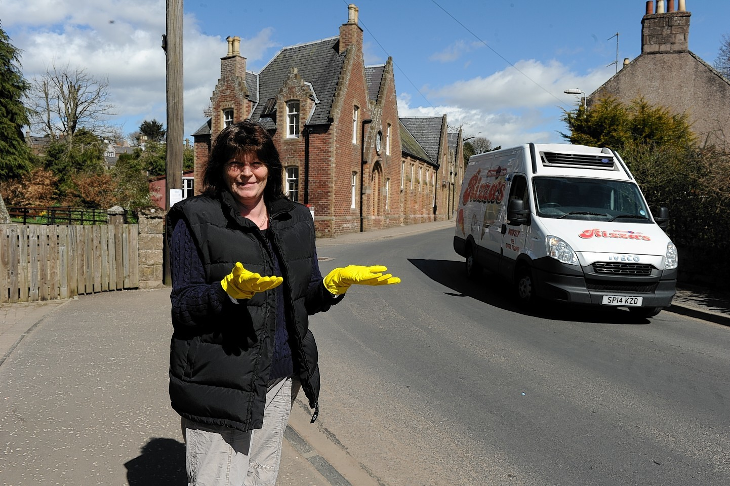 Mearns community councillor Shirley Castles. Picture by Colin Rennie