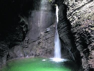 The Great Kozjak waterfall, Slovenia