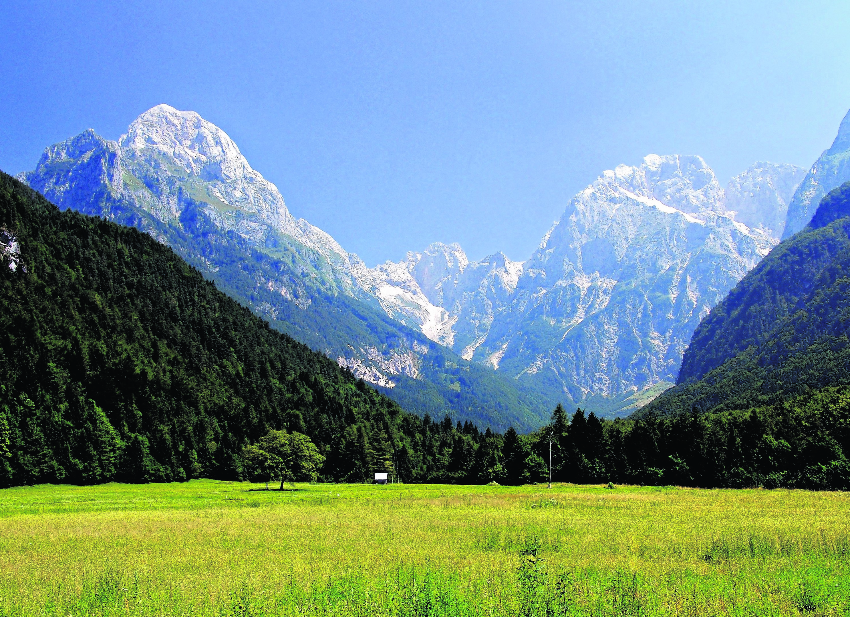 The Soca Valley, Slovenia