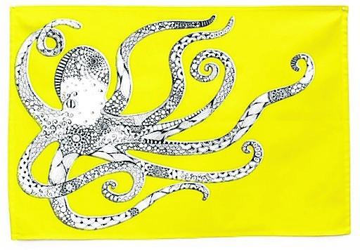 Octopus Tea Towel £9.95