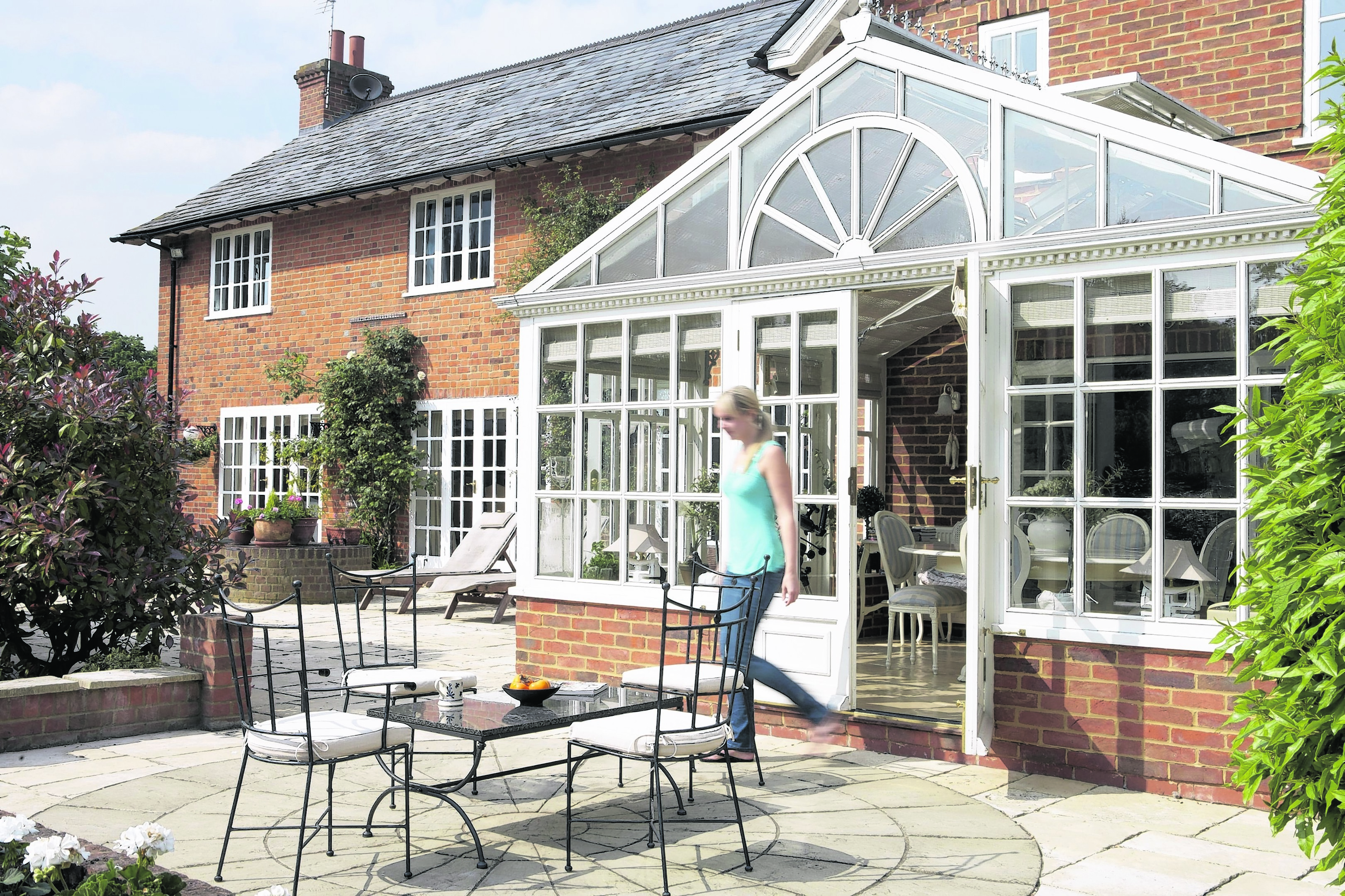 Five things to consider when adding a conservatory press for Adding a conservatory
