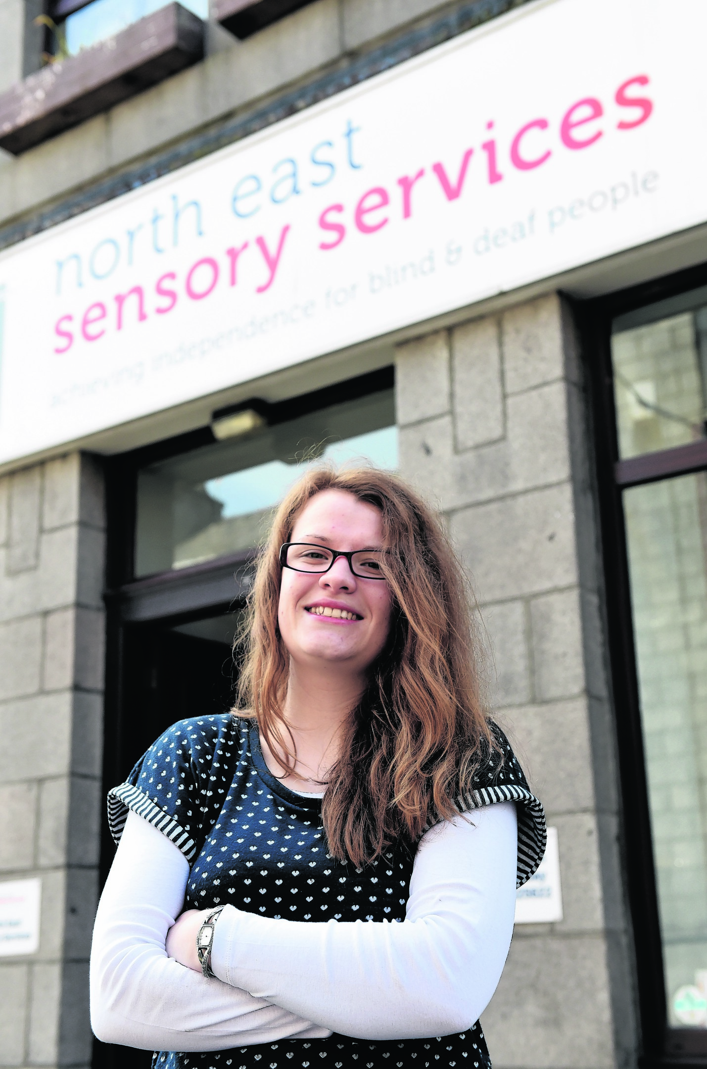 Leona Glennie, who works at North East Sensory Services.