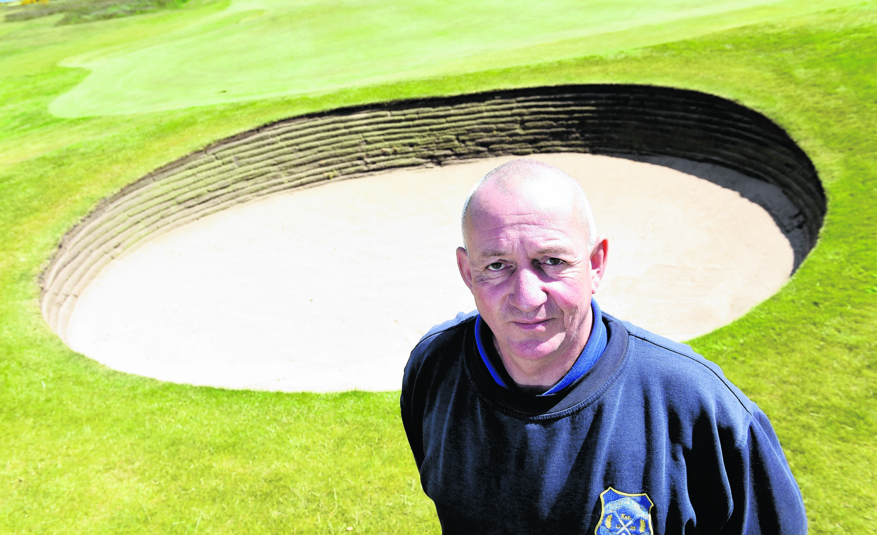 Bob Mackay, course manager at Murcar Links Golf Club, Aberdeen.