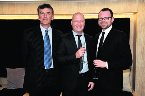 Mark Norris, Gary Thow and Nick Allan