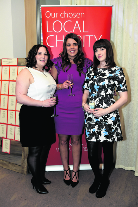 Lynn Keay, Nicola Macpherson and Sarah Robinson