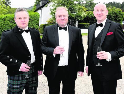 Gordon Leitch, Alan Savage and Craig Hendry