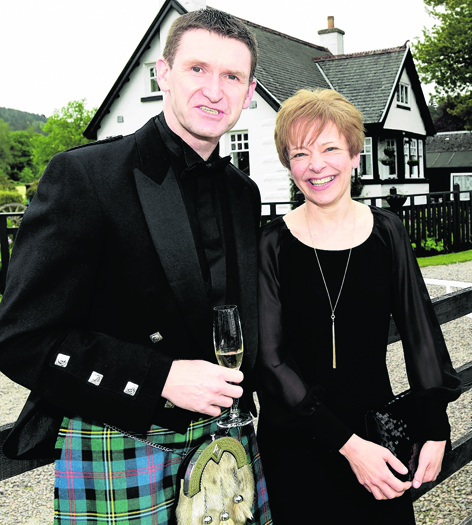 Hamish and Dianne Malcolm
