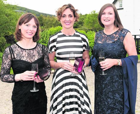 Caroline Leitch, Lynne Savage and Corrie Hendry