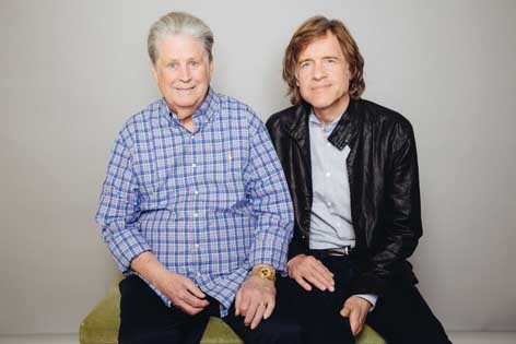 Brian Wilson with Love & Mercy director Bill Pohlad