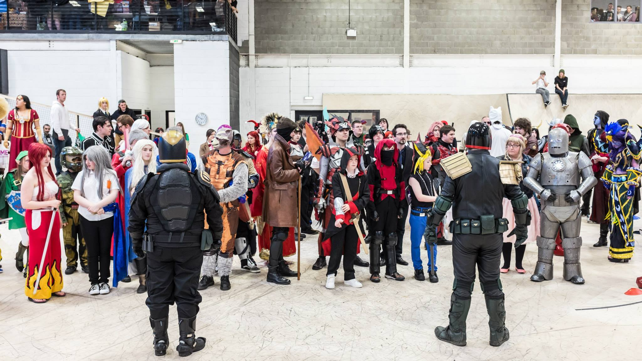 Granite City Comiccon held in May this year and set for another event next year drew in thousands of people dressed as their favourite comic book, movie and game characters