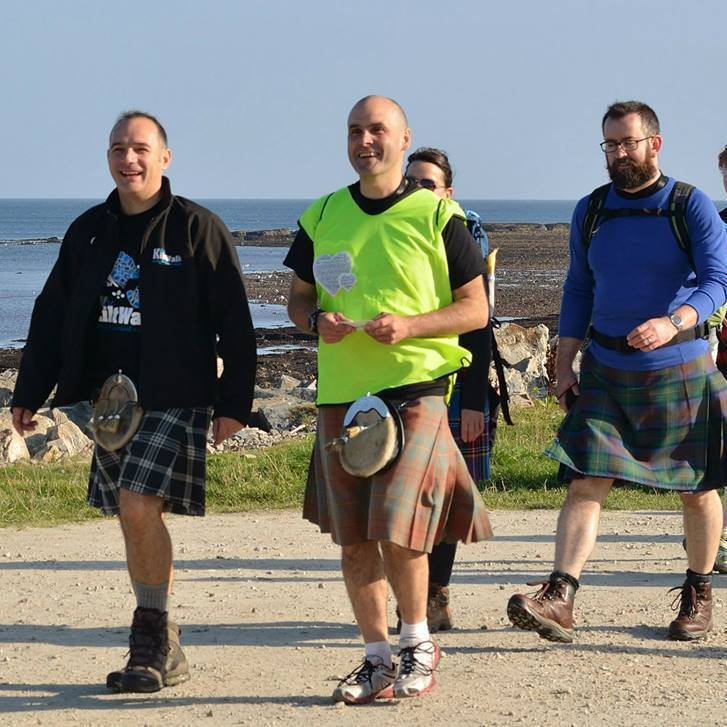 Since 2012 the Speyside Kiltwalk has helped raise thousands for worthy causes