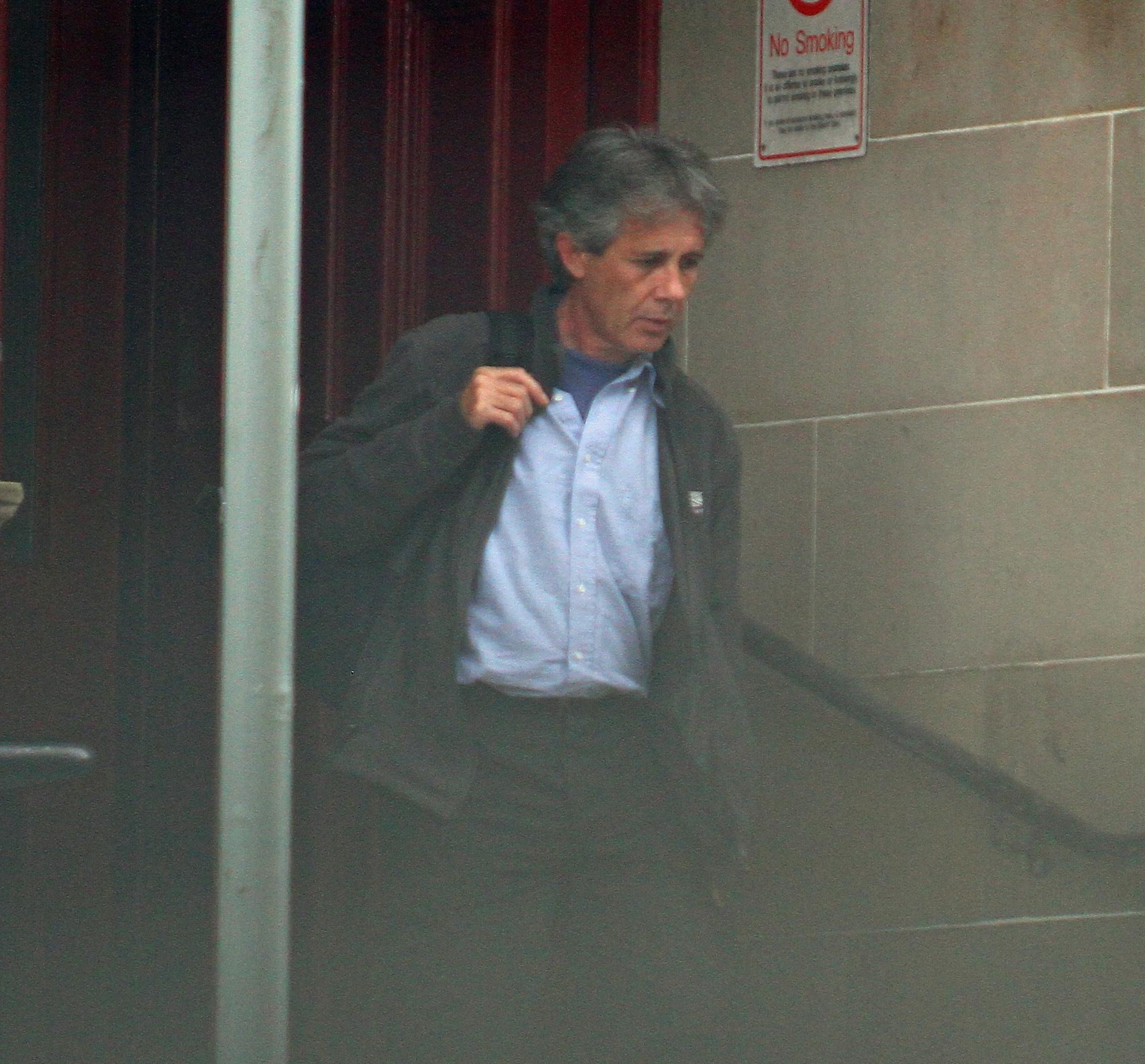 Alun Simpson outside Oban Sheriff Court