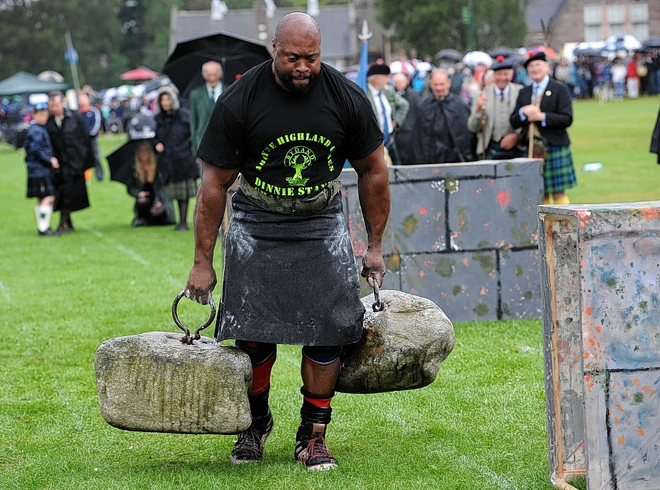 Some annual events such as the Aboyne Highland Games received some funding from a £3million pot