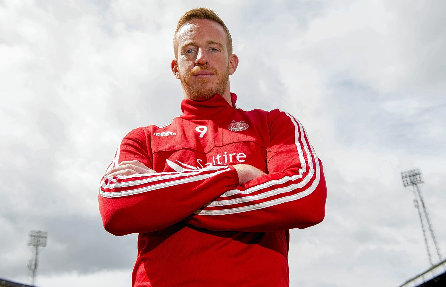 Adam Rooney took to Twitter to announce his news