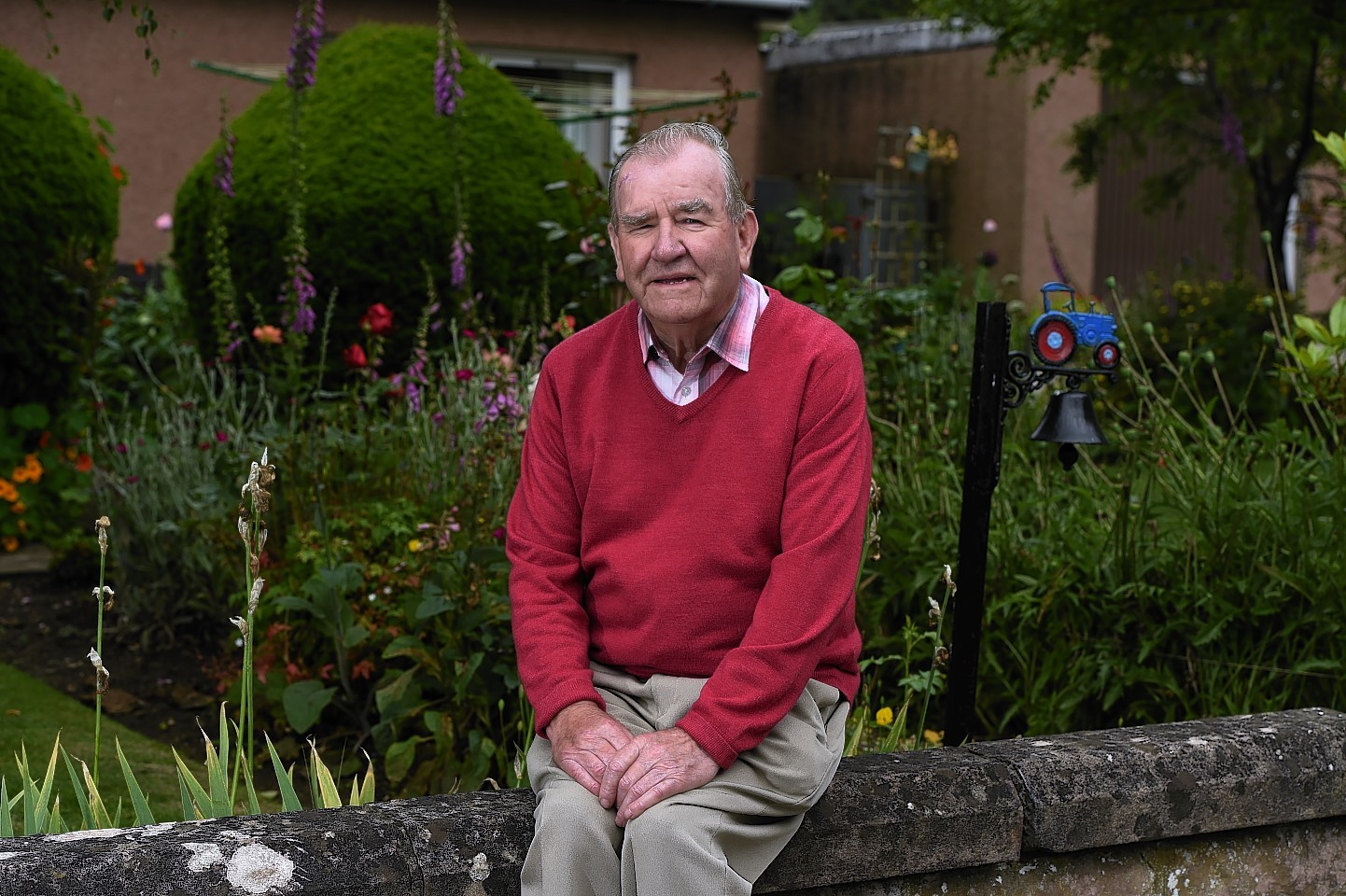 Alec McRobert celebrated his 80th birthday by raising money for local causes