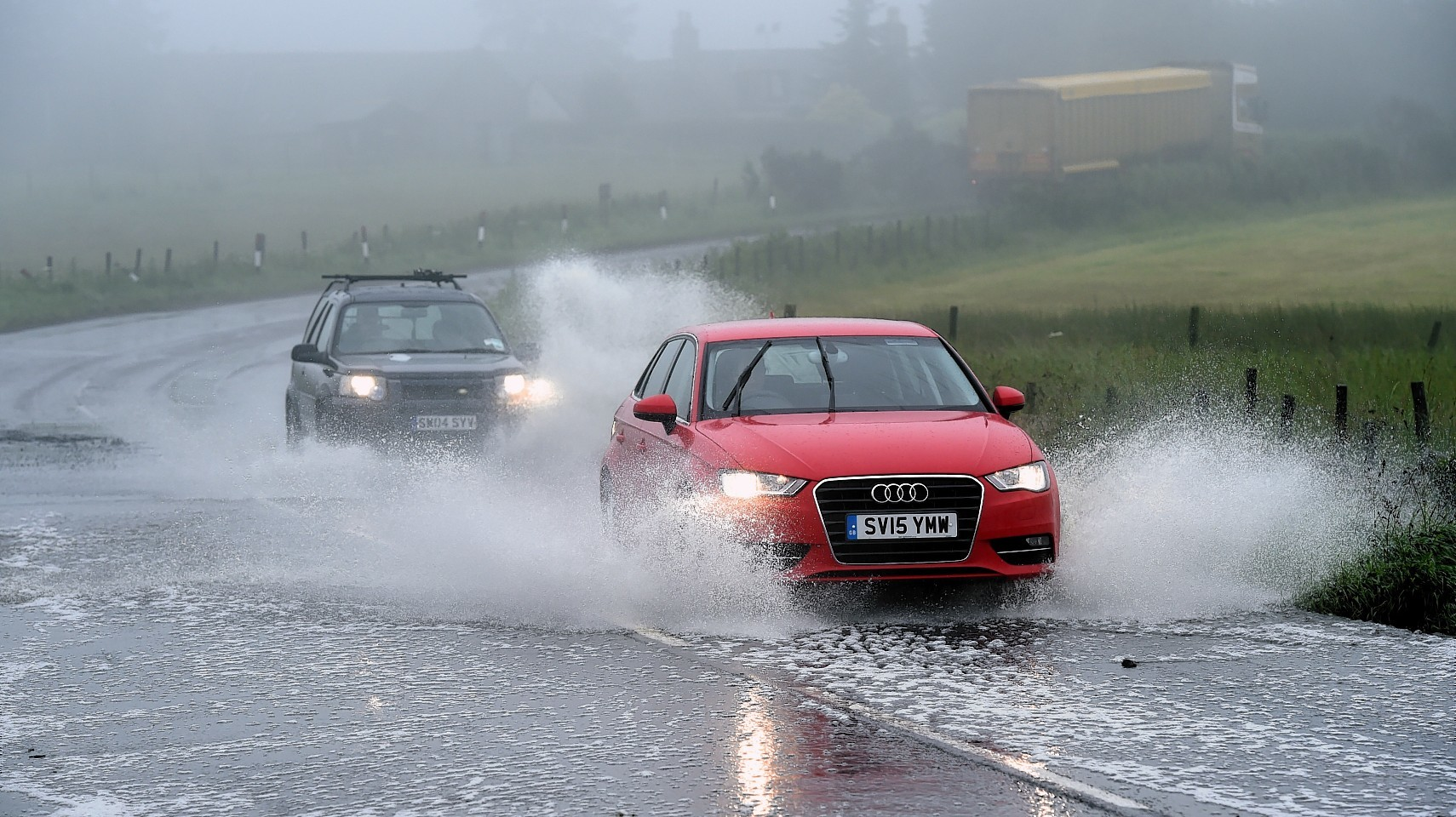 Flooding has been predicted by SEPA