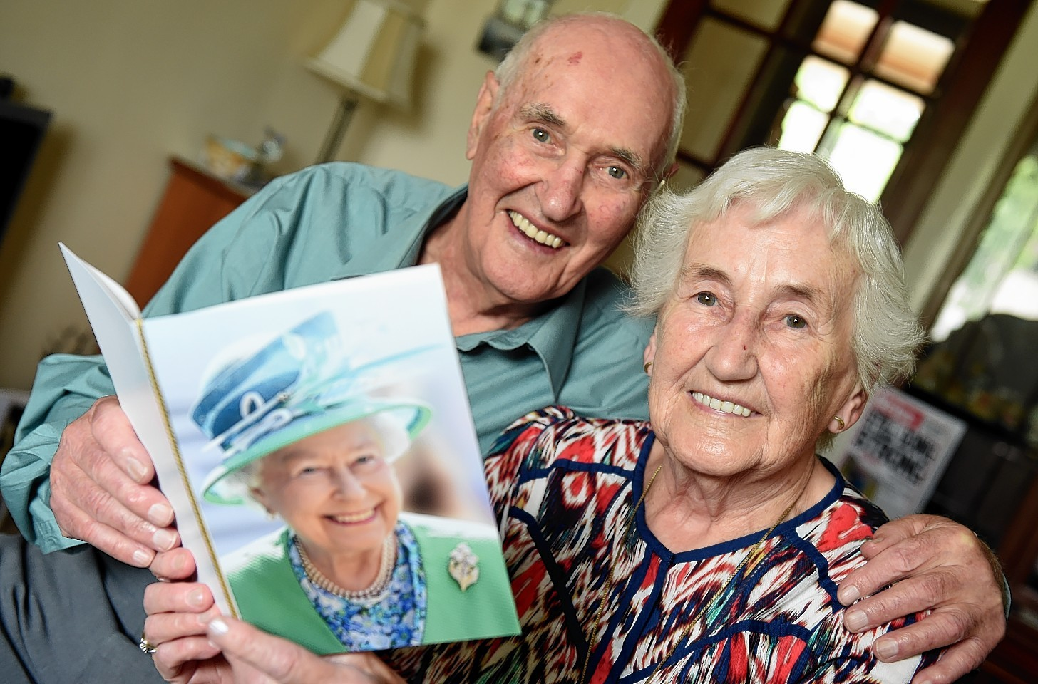Bill and Mary Adams of Pittodrie Place, Aberdeen. Picture by Kami Thomson