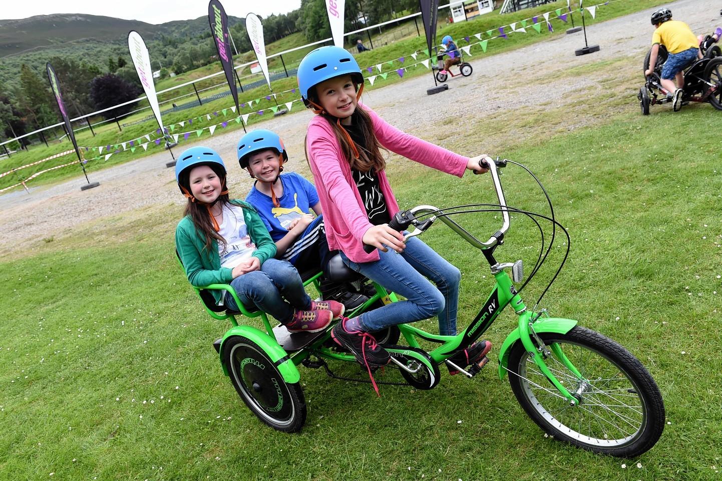 Family Fun Day at the Princess Royal and Duke of Fife Memorial Park Braemar.