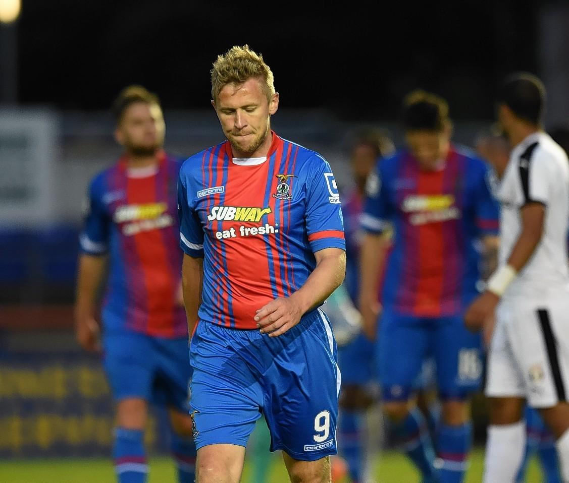 Inverness captain Richie Foranhas endured a frustrating campaign