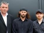 Christie Row: Graham Nesbitt, Stuart Bain, Danny Mortimer