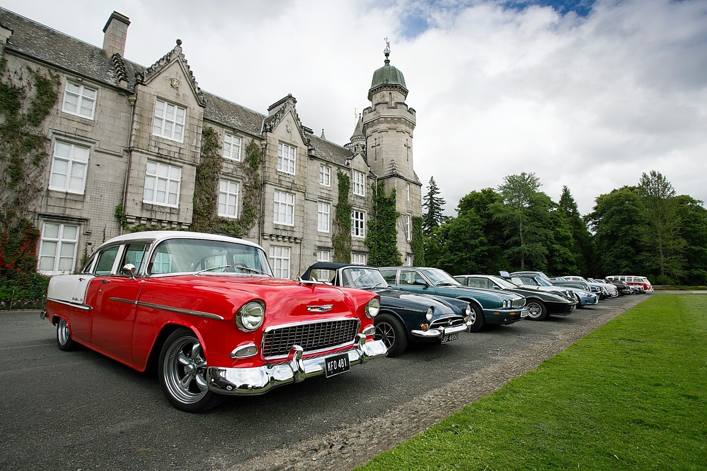 The second year of the Clan Cavalcade drive raised thousands of pounds for the charity
