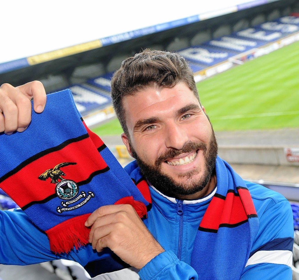Lopez is looking forward to moving his family to Inverness