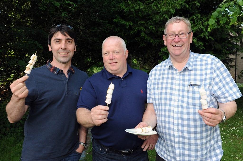 Dave Scott, Graeme Stewart, Colin Gibb