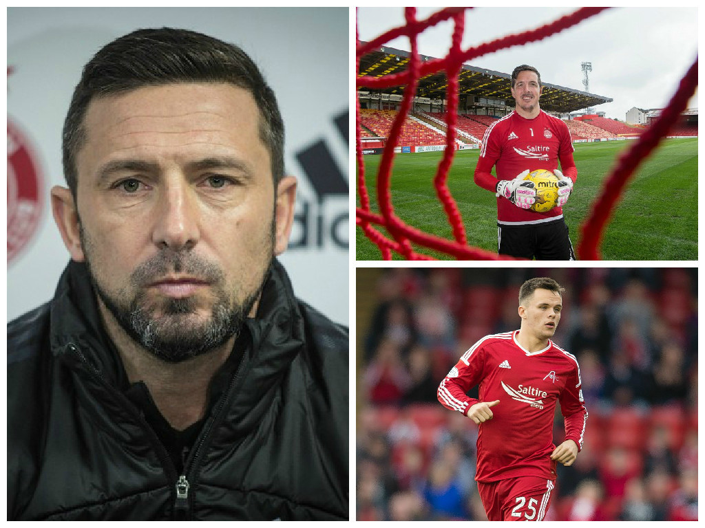 Derek McInnes is looking to hold onto Jamie Langfield and Lawrence Shankland
