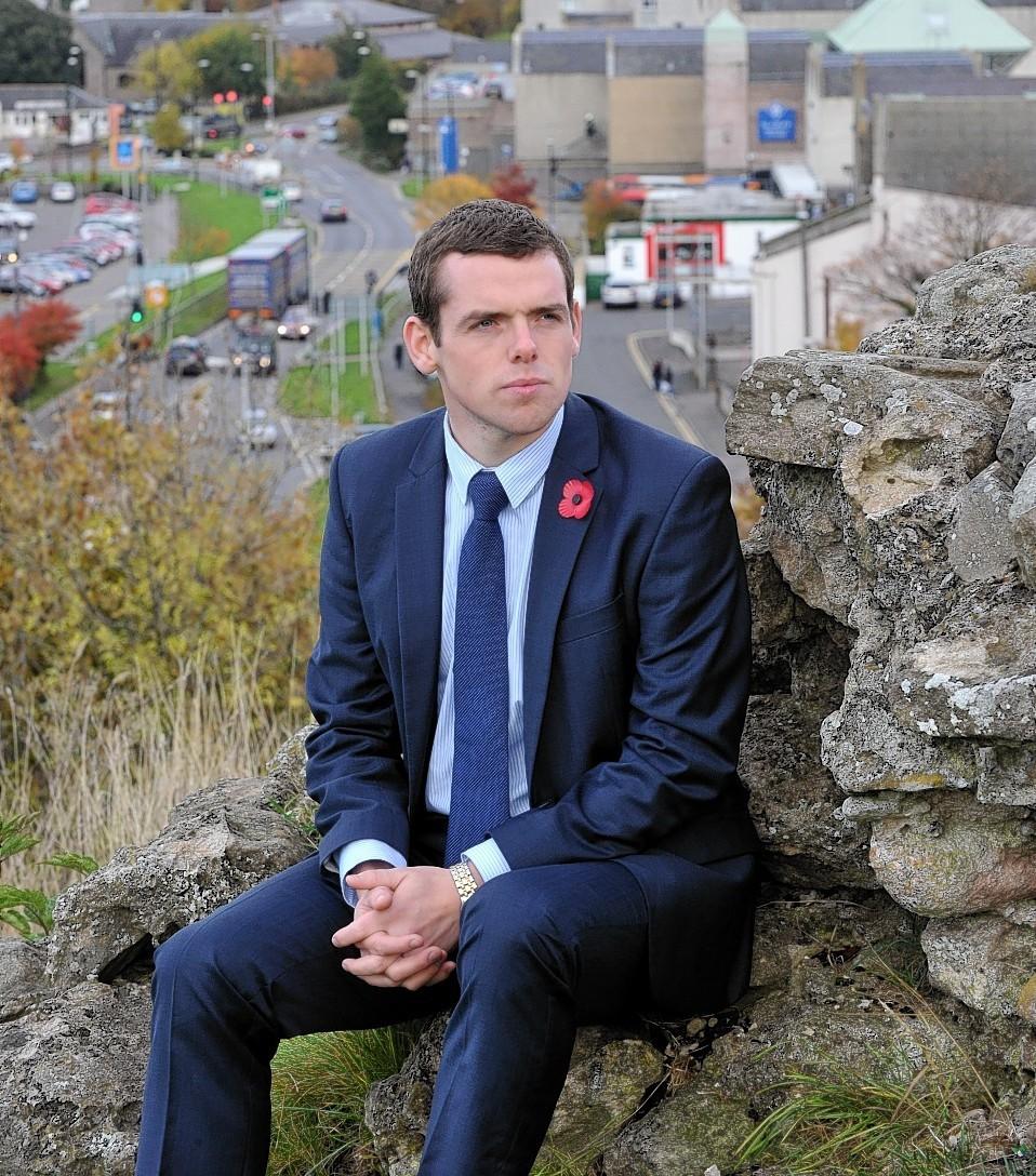 Moray councillor Douglas Ross