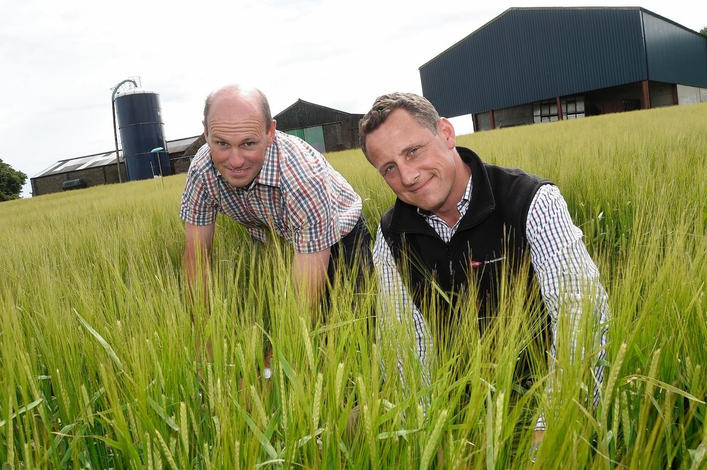 Stuart Jackson and Alex Nichols from Dow AgroSciences