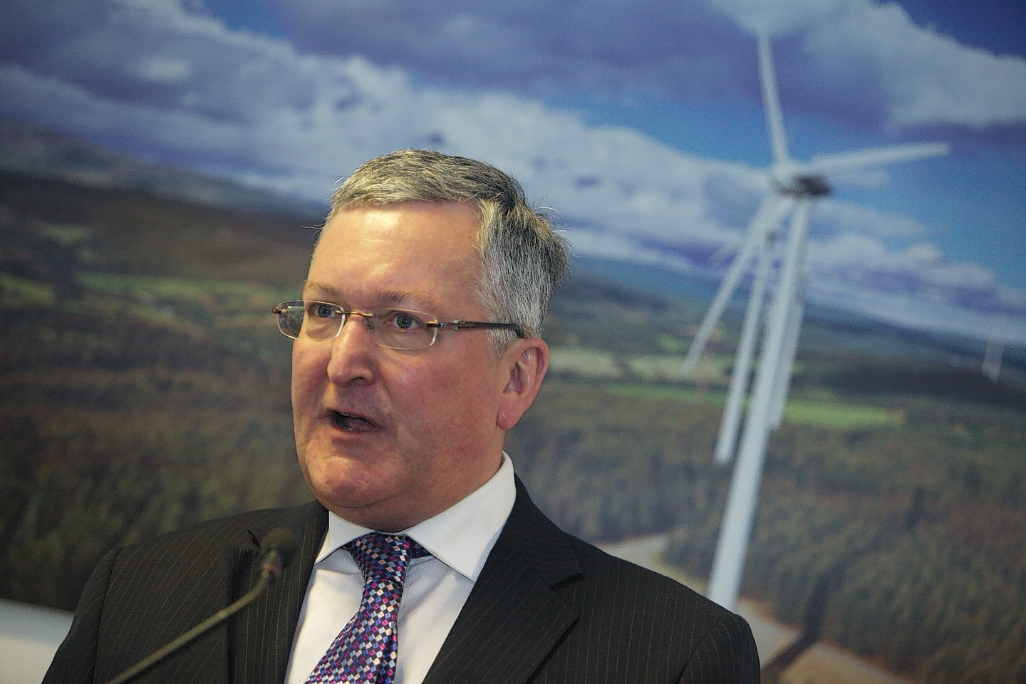 Scottish Energy Minister Fergus Ewing