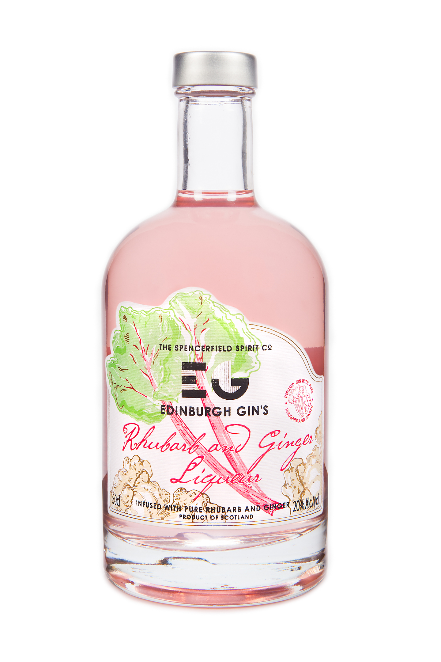 Edinburgh Rhubarb gin