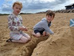 Last year's sandcastle competition in Fraserburgh