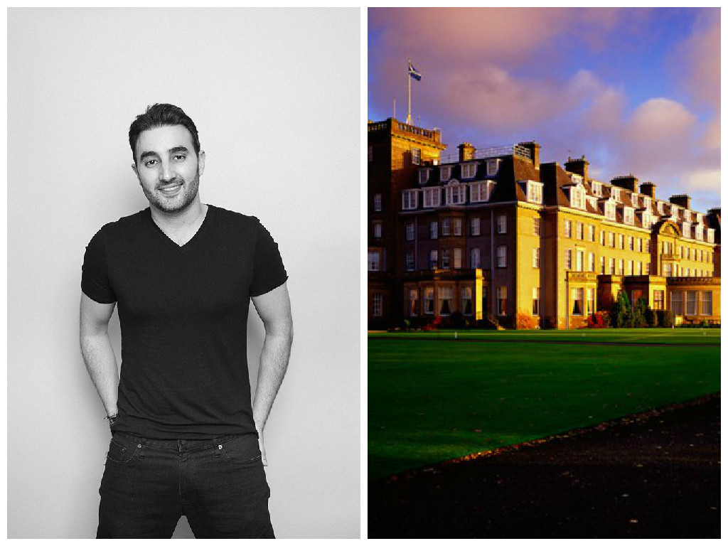 Sharan Pasricha is the new owner of the Gleneagles Hotel