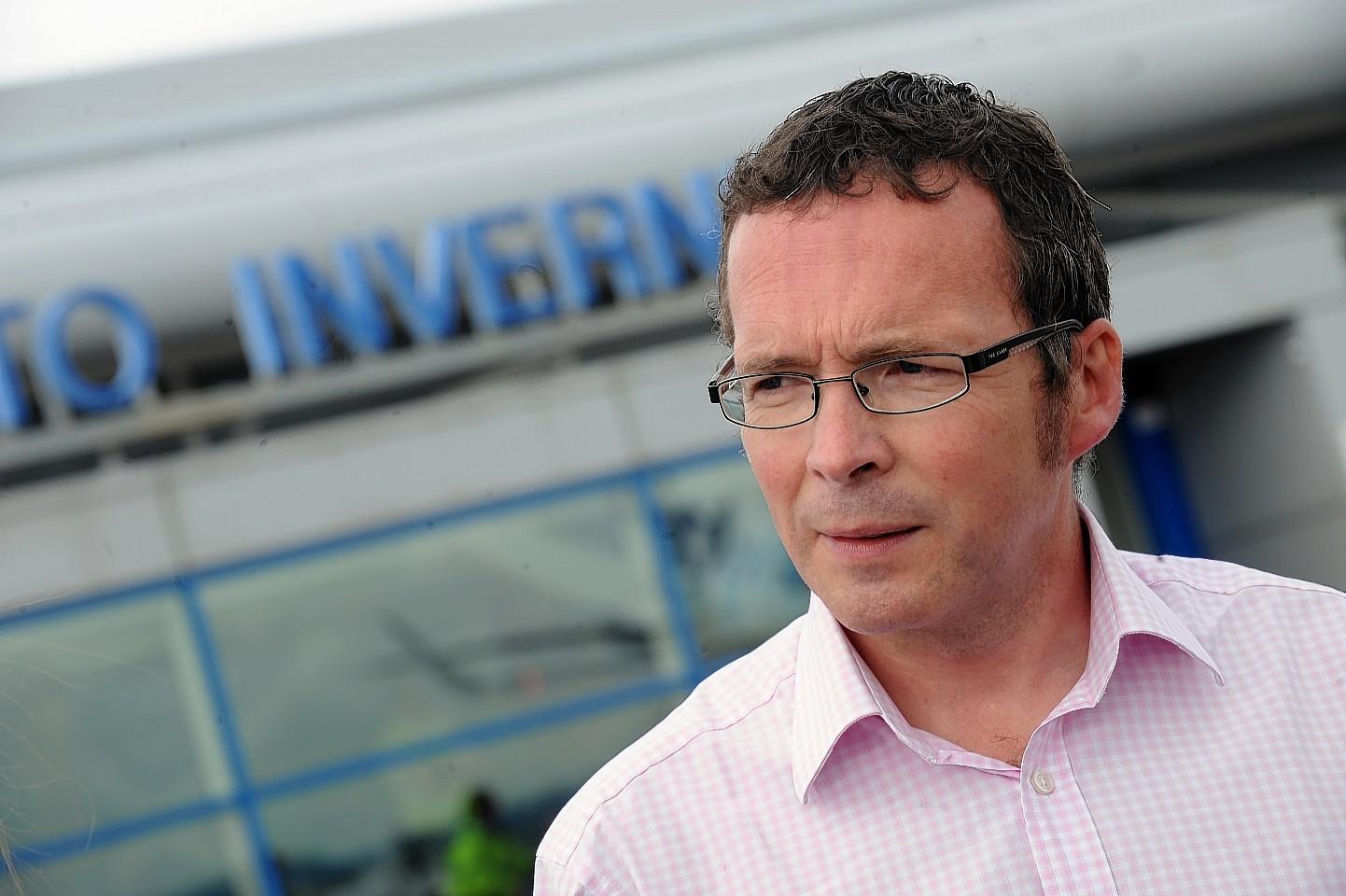 HIAL managing director Inglis Lyon