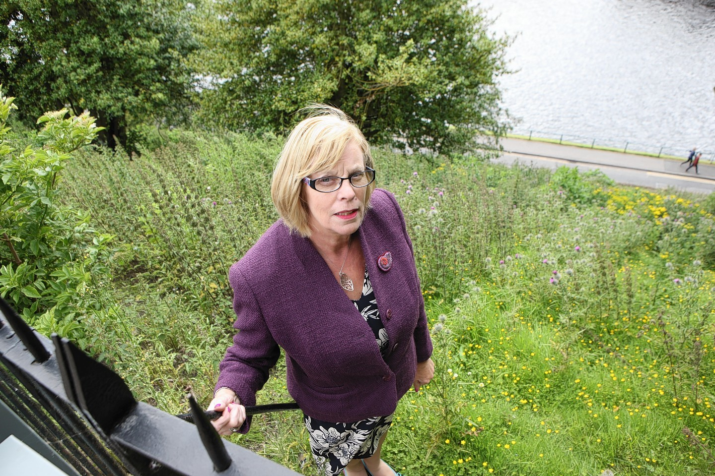City-centre councillor Bet McAllister believes the hill requires work