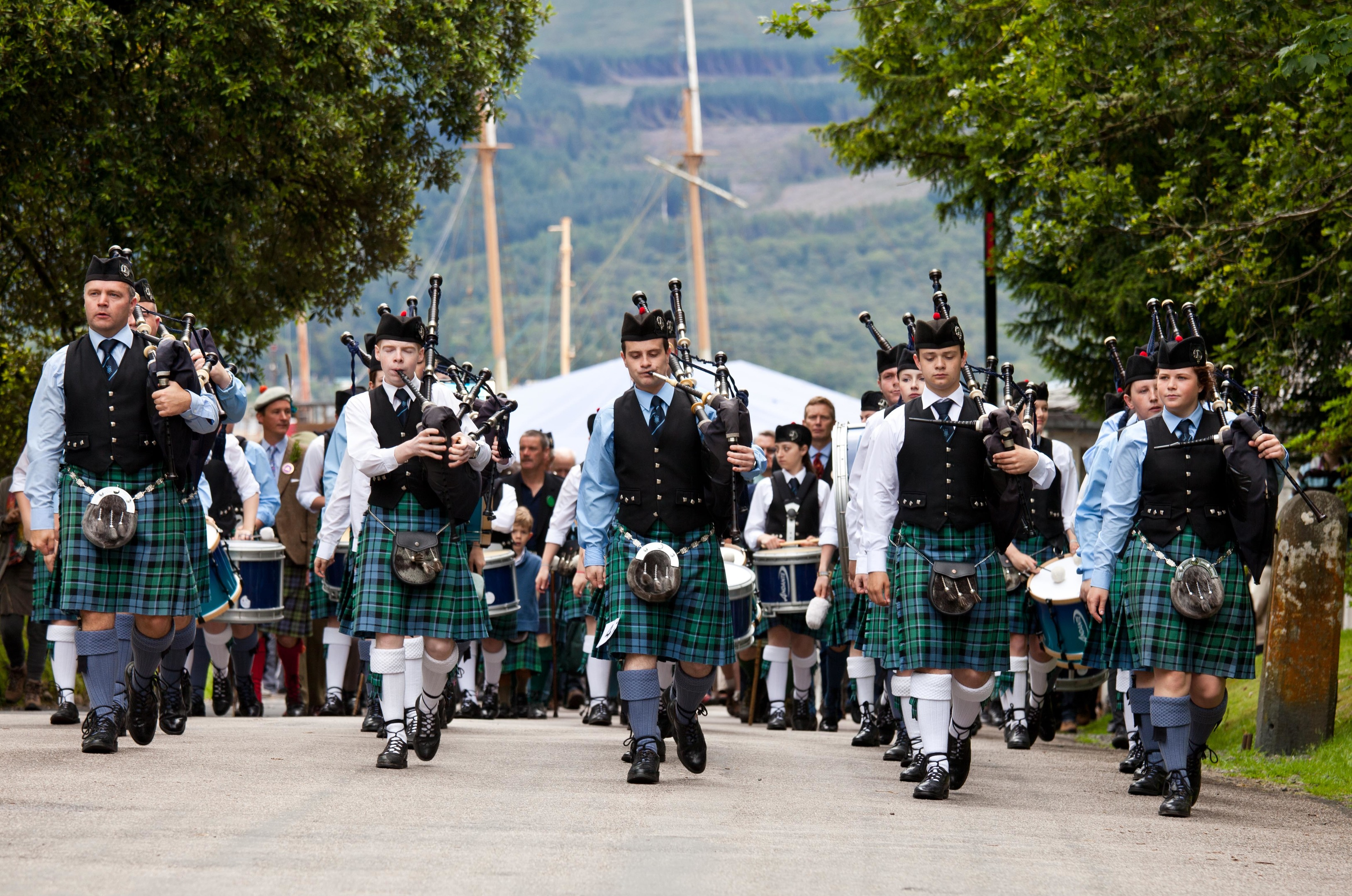 Once again big crowds are expected to turn out for the Inveraray Highland Games