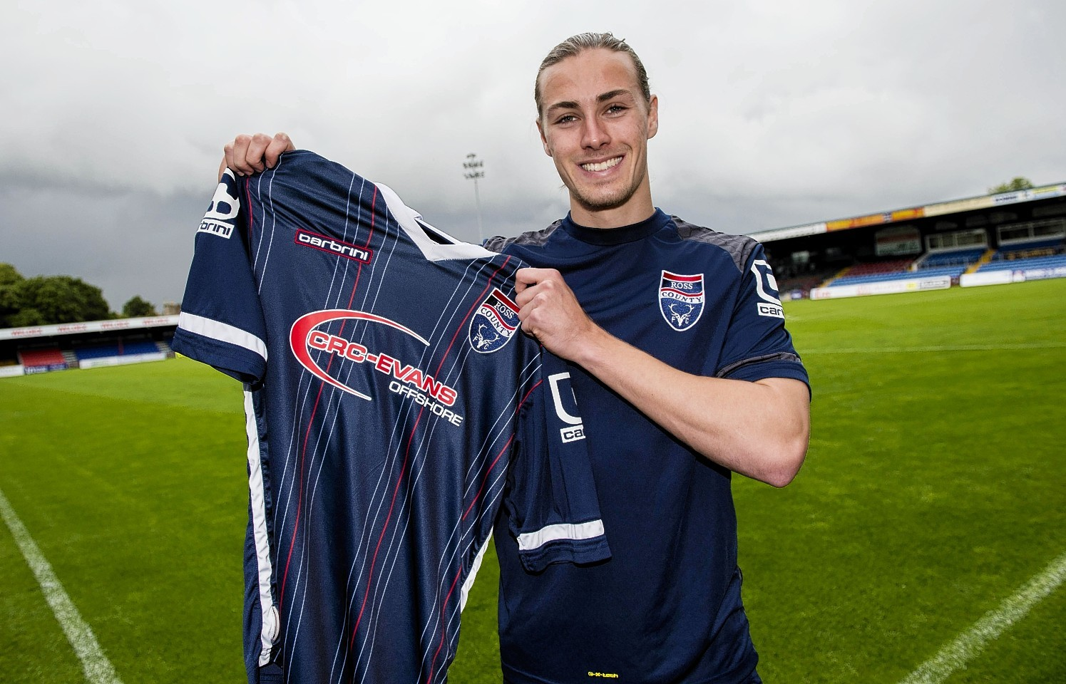 Irvine has joined Ross county on a permanent deal