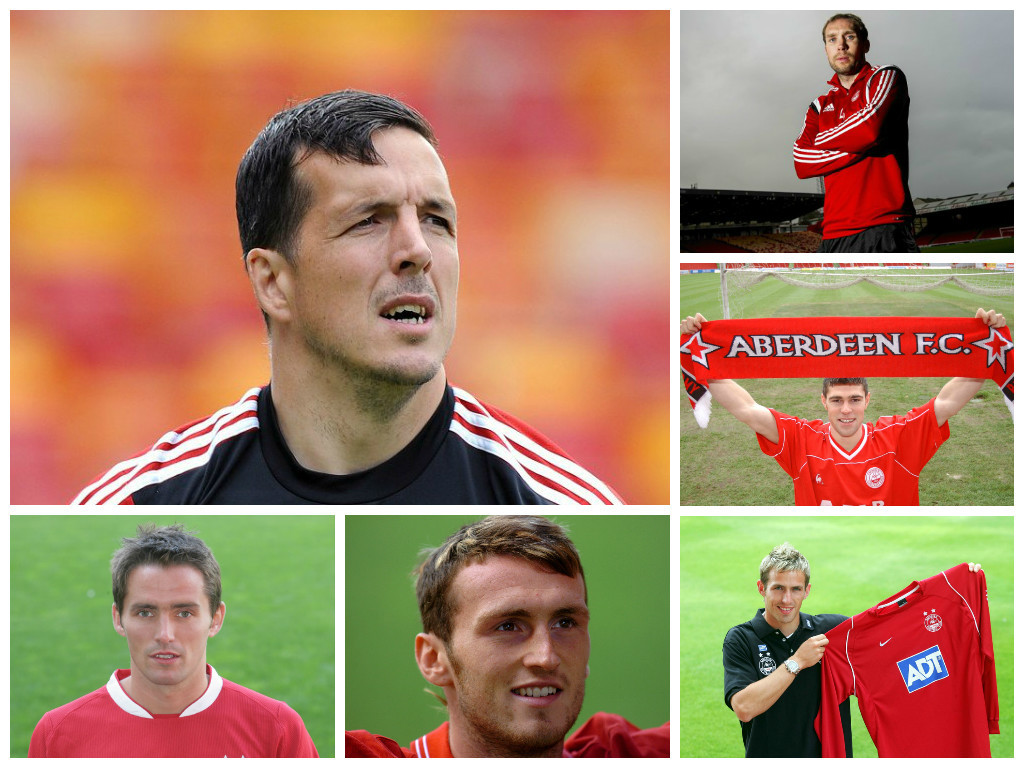 Russell Anderson, Chris Clark, Steve Lovell, Lee Miller and Scott Severin  are among the players to be turning out for Jamie Langfield's testimonial