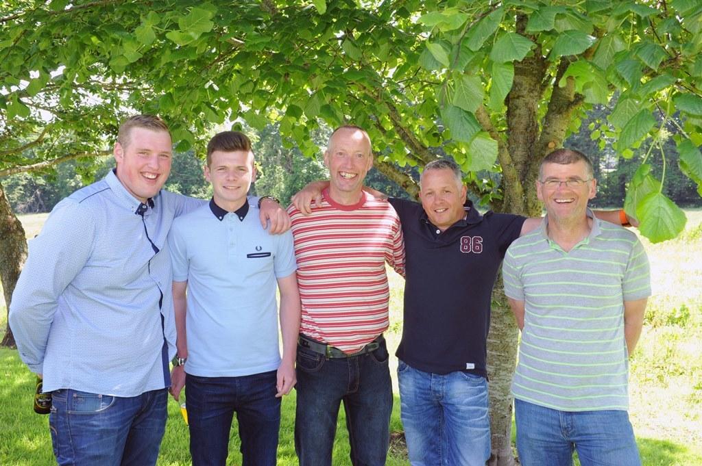 Jordan McLeod, Dean Donald, John Gill, Andy Gordon, Phil Hay