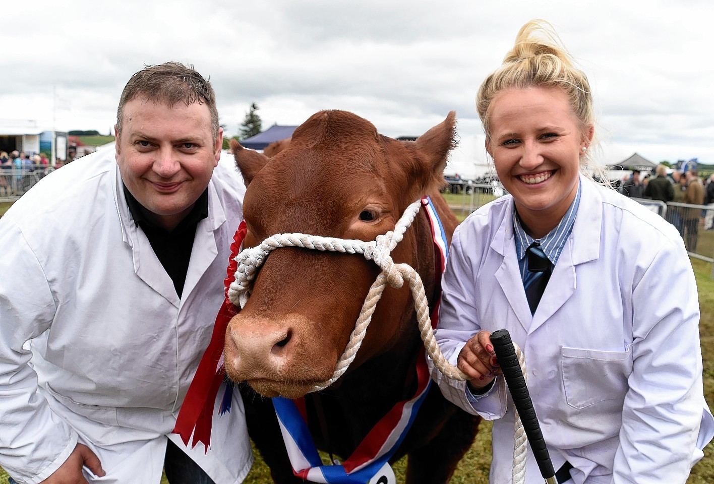 Blair Duffton, Lady Moo Moo and Rebecca Stuart