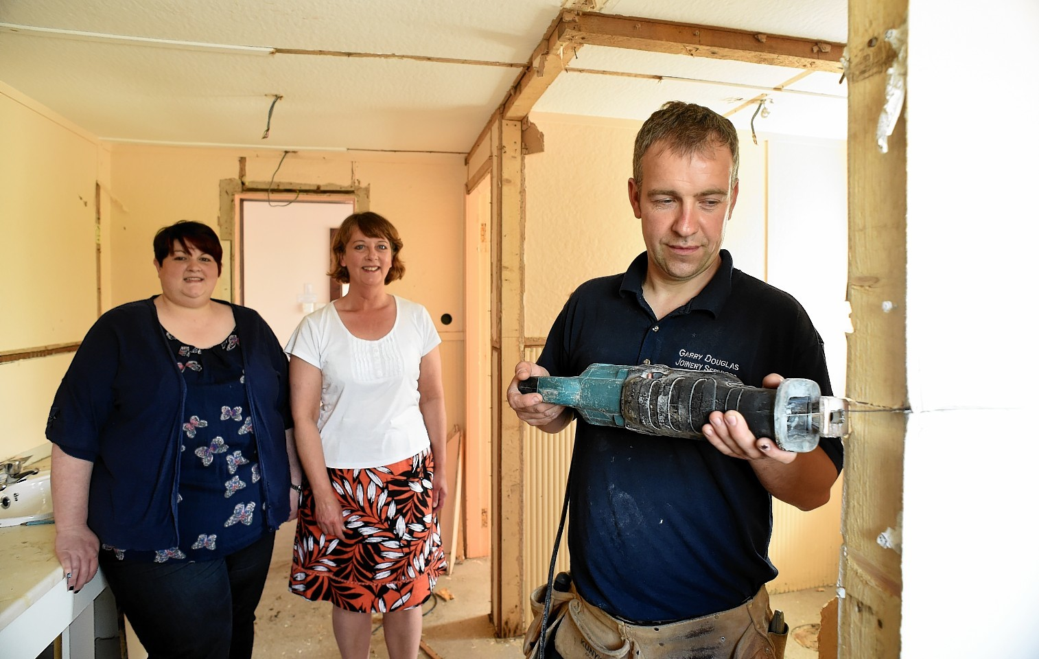 Renovation work has now started at Logie Durno Village Hall