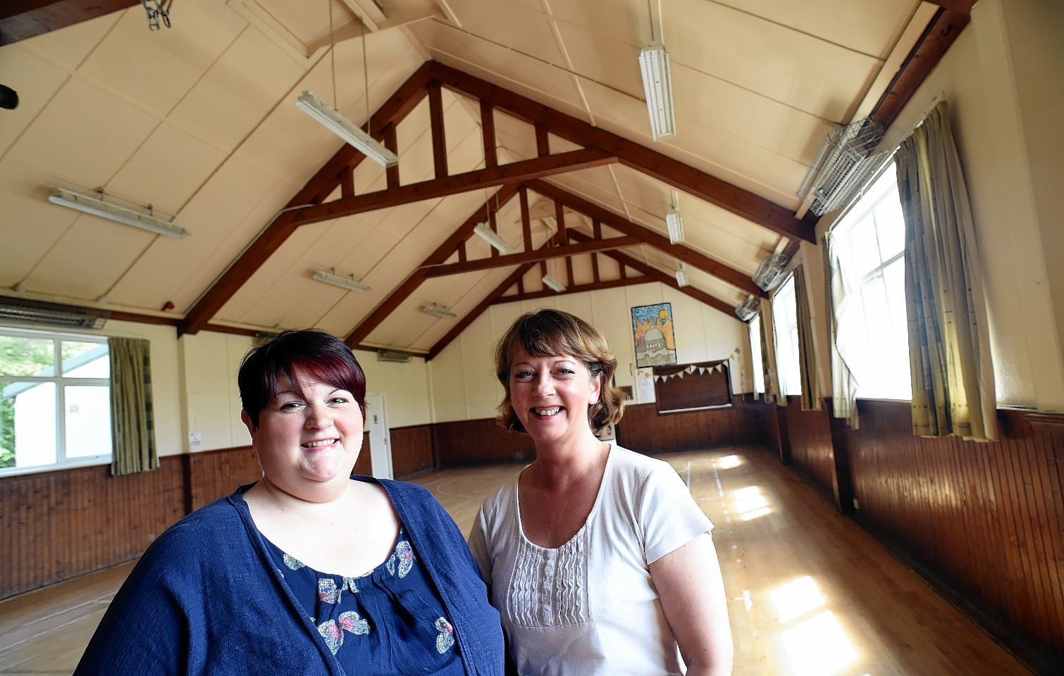 Renovation work has now started at Logie Durno Village Hall, thanks to the local community, who managed to secure £25,000 funding for the project