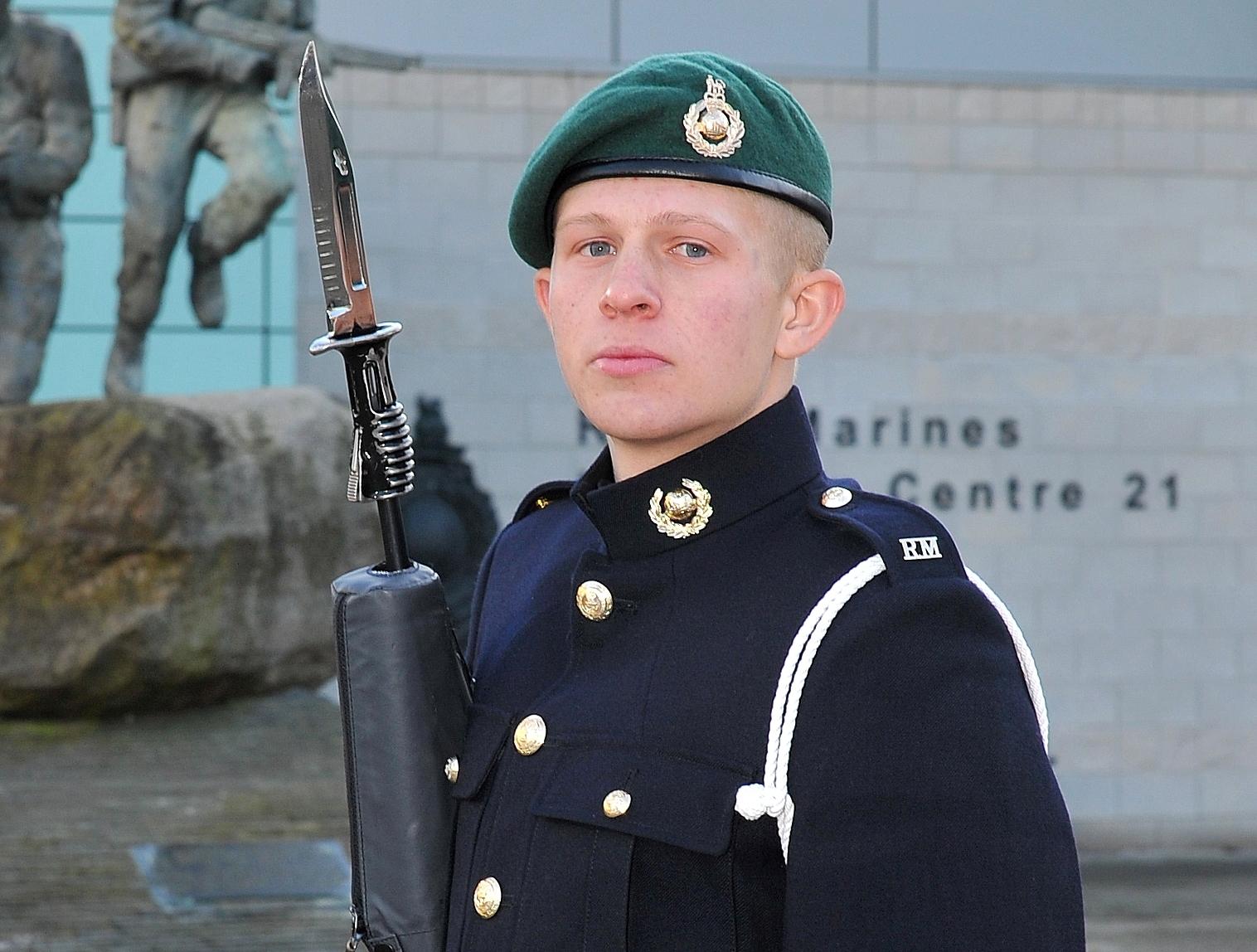 Marine Andrew Dawes