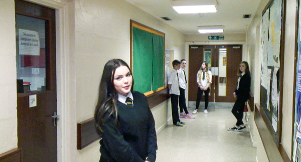 Milne's High pupils created the film